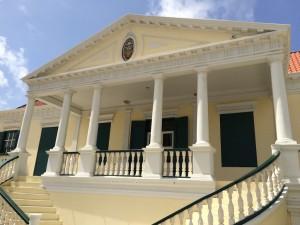 Het ministerie van Financiën @ Curaçao