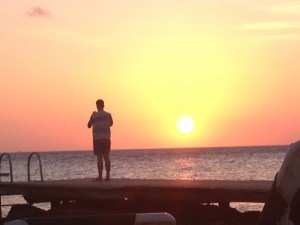 Zonsondergang @ Porto Mari