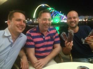 Pieter, Cees & Bart en de droge worsten uit Stadskanaal!